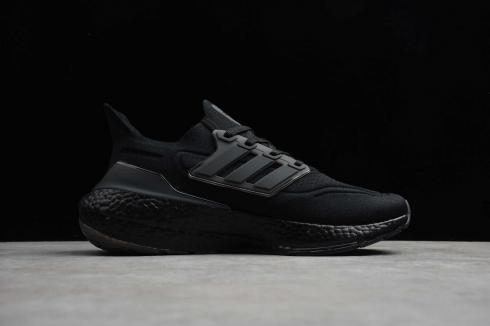 Adidas Ultra Boost 2020 Triple Black Cloud White Running Shoes FY0306