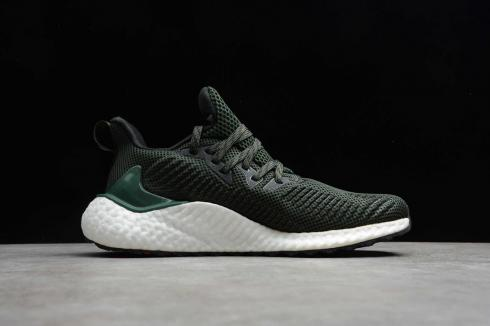 Adidas Alphabounce Boost 21 Green Core Black Cloud White EF1247