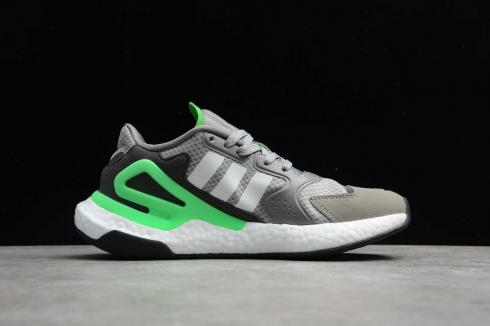 Adidas Day Jogger 2020 Boost Grey Green Cloud White Core Black FW4825