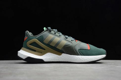 Adidas Day Jogger Green Red Cloud White Running Shoes WF4817