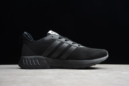 Adidas Grand Court Triple Black Core Black Running Shoes EH8033