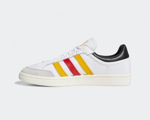 Adidas Originals Americana Low Cloud WHite Yellow Red EF2510