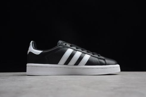 Adidas Originals Campus Core Black Cloud White Metallic Gold CQ2073