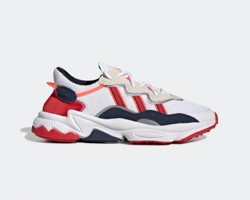 Adidas Originals Ozweego Scarlet Cloud White Collegiate Navy EH3215