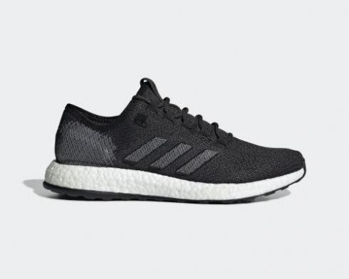 Adidas PureBoost Core Black Dark Grey Cloud White EE4282