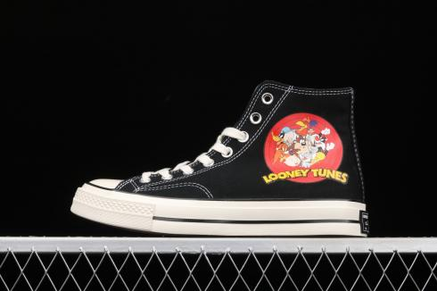 Converse Chuck 1970s High Looney Tunes White Black Red 162050C