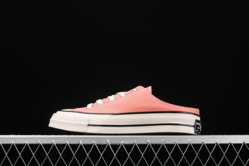 Converse Chuck 1970s OX Slip On Shoes Pink White Egret 163298A