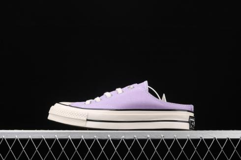 Converse Chuck 1970s OX Slip On Shoes Violet White Egret 164405A