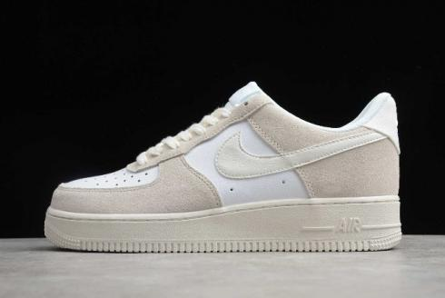 2020 Nike Air Force 1 Low White Sail Platinum Tint CW7584-900