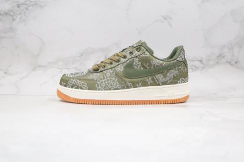 Clot x Nike Air Force 1 Low Premium White Green Brown CZ3986-008