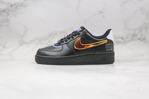 Nike Air Force 1 07 LV8 Have A Good Game Black Running Shoes DC0710-101