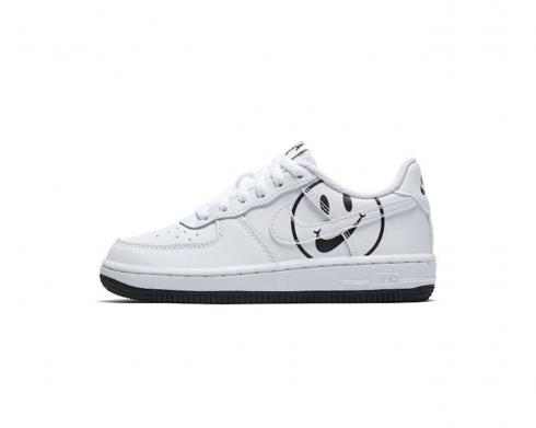 Nike Air Force 1 Low Have A Nike Day White Black Shoes BQ8274-100
