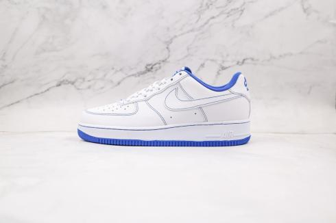 Nike Air Force 1 Low White Navy Blue CV1752-101