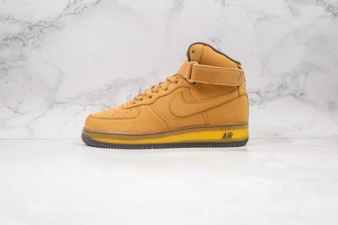 Nike Air Force 1 Mid SP Wheat Dark Mocha Shoes DC7504-600