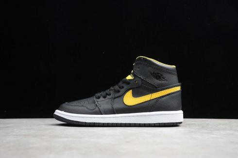 Jordan 1 Mid Black University Gold CI9352-901