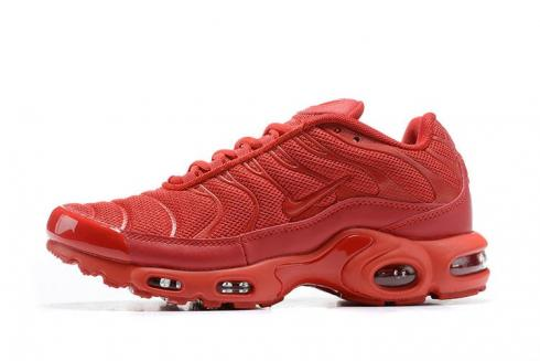 Nike Air Max Plus TN Tuned All University Red Running Shoes 852630-610