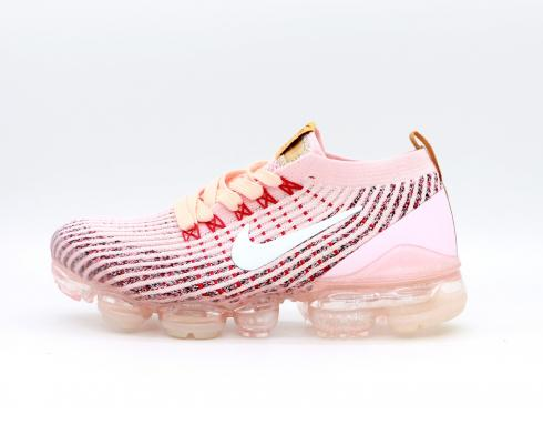 Nike Wmns Air VaporMax Flyknit 3 Pink Red Yellow Shoes AJ6910-050