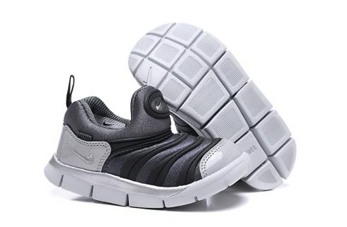 Nike Dynamo Free SE Y2K Infant Toddler Shoes Metallic Silver White BQ7105-001
