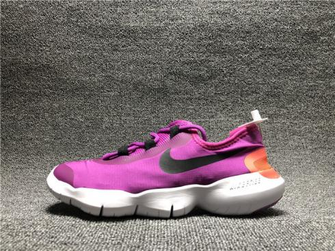 Wmns Nike Free RN 5.0 2020 Flame Pink White Running Shoes CZ0207-601