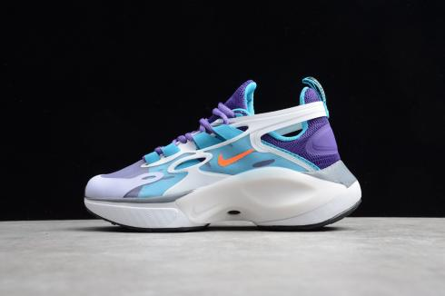 2020 Nike Signal D/MS/X White Purple Blue AT5303-158