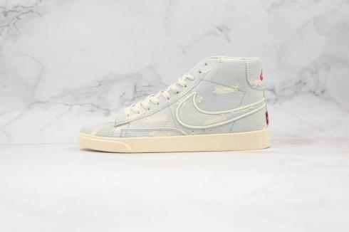 Levis Strauss x Nike SB Blazer Mid Retro Light Blue Cowboy AV9375-007