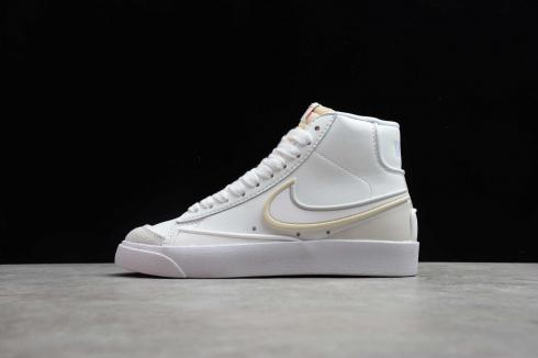 Nike Wmns SB Blazer Mid 77 Vntg Suede Mix All White Drop Plastic 853508