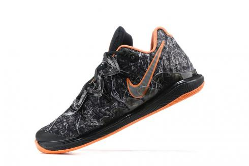 2020 Nike Kyrie Ivring V 5 Taco PE Black Orange Wood Camo Basketball Shoes AO2918-902