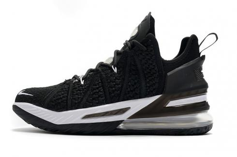 Nike LeBron 18 XVIII Low EP Black White DB7644-010