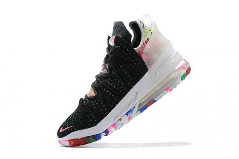 Nike Zoom Lebron 18 XVIII Black White Rose Pink King James Basketball Shoes Release Date AQ9999-996