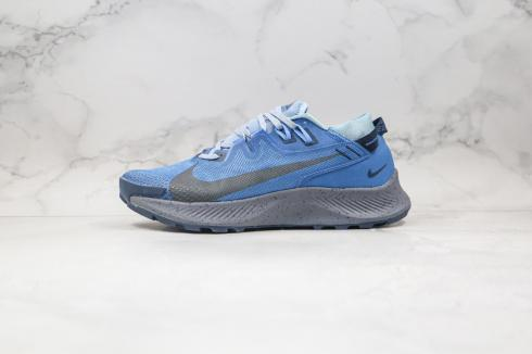 Nike Zoom Pegasus Trall 2 Blue Grey Black Running Shoes CK4305-014